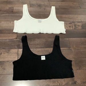 TNA thermal crop top size small like new bundle